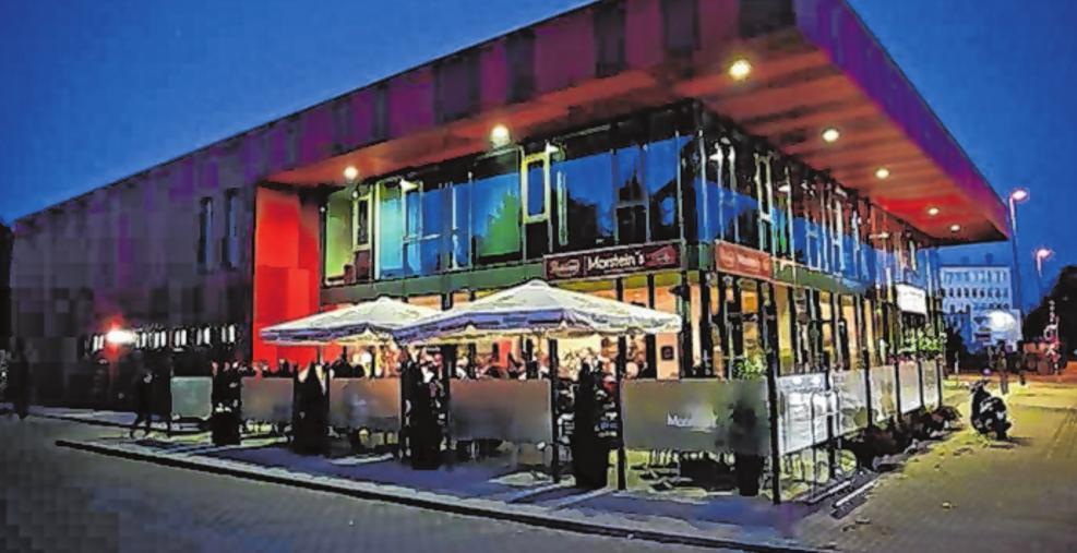 """Das Restaurant """"Morstein´s"""" befindet sich im Bürgerhaus Neuenhagen. Fotos (3): prinzmediaconcept"""