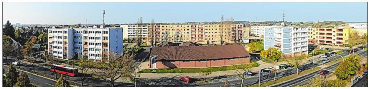 Stadtteil Nord: Auch in Fürstenwalde mussten alte, sanierungsbedürftige Plattenbauten abgerissen wurden. Für andere Blöcke lohnte aber auch die Sanierung. Ein gelungenes Beispiel dafür ist der Block in der Juri-Gagarin-Straße 44 (links im Bild) . Fotos (4): Wohnungswirtschaft GmbH