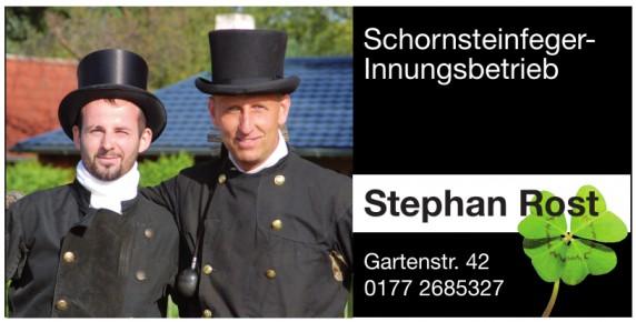 Stephan Rost Schornsteinfeger-Innungsbetrieb
