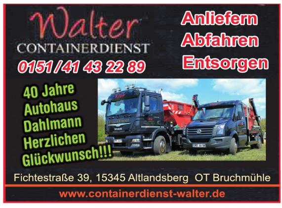 Walter Containerdienst