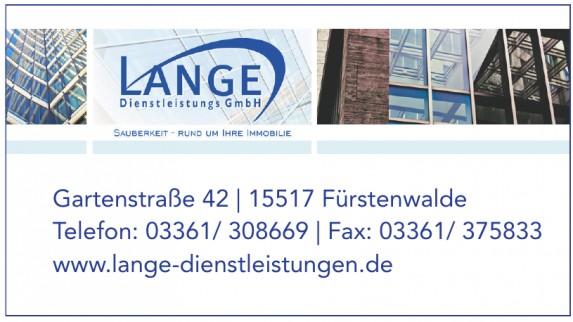 Lange Dienstleistungs GmbH