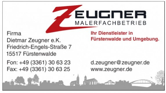 Firma Dietmar Zeugner e.K.