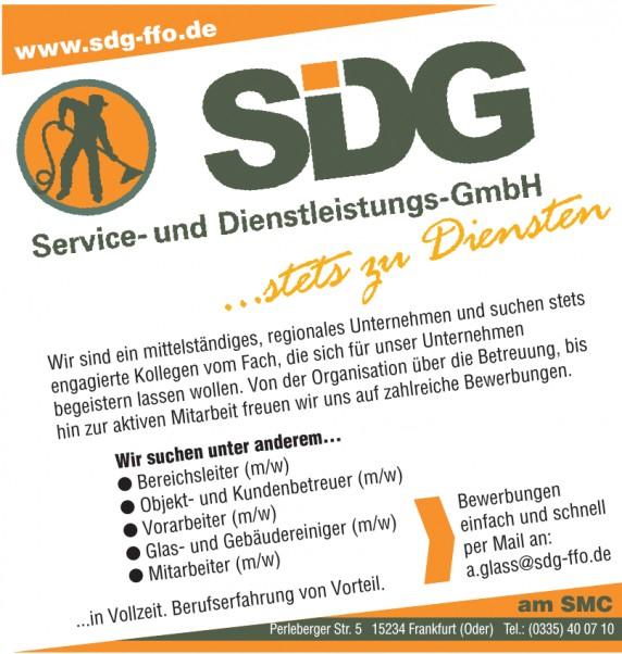 SDG Service und Dienstleistungs GmbH