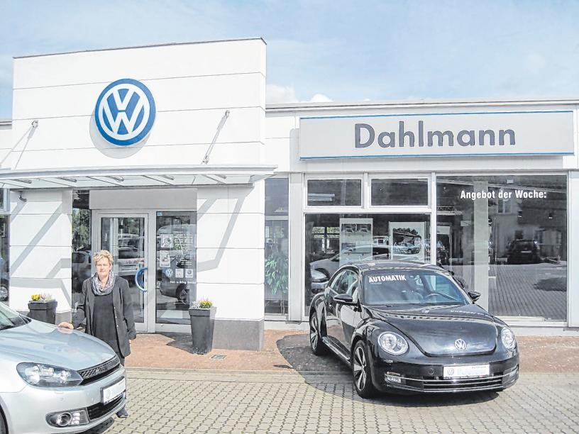 Seit 40 Jahren besteht das Autohaus Dahlmann, seit 2015 ist Jeannette Dahlmann die alleinige Chefin. Foto: P. Strelau