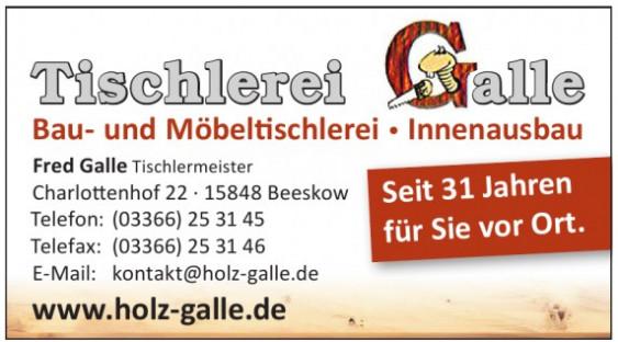 Tischlerei Galle