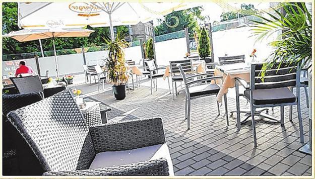 Dank des neuen Wind- und Sichtschutzes wird die Restaurant-Terrasse mit den 40 Sitzplätzen in den Sommermonaten gut genutzt.