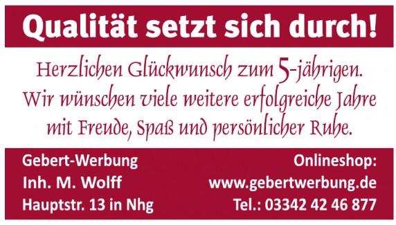 Gebert-Werbung
