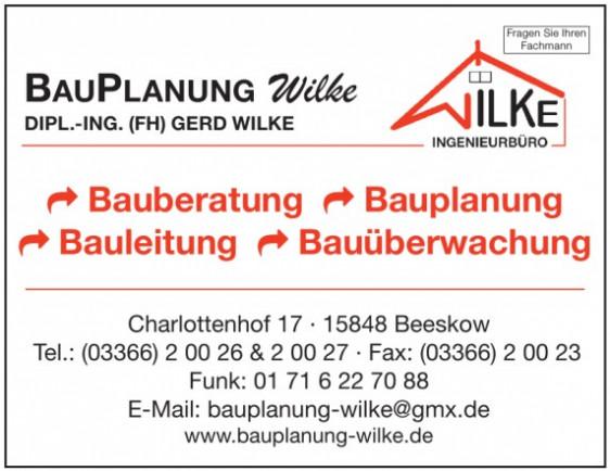 Bauplanung Wilke