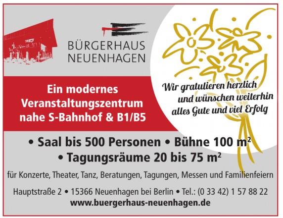 Bürgerhaus Neuenhagen