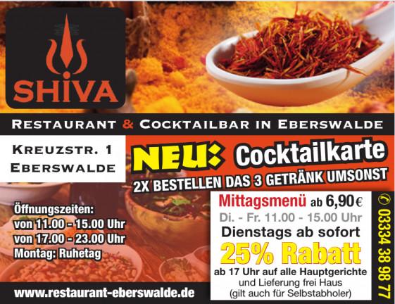 Shiva Restaurant & Cocktailbar