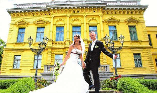 Ein beliebter Ort zum Heiraten, die Märchenvilla in Eberswalde Foto: Foto Herr