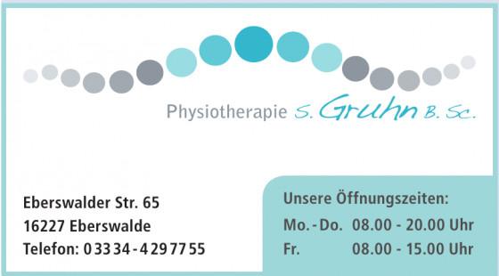 Physiotherapie S. Gruhn B. Sc.