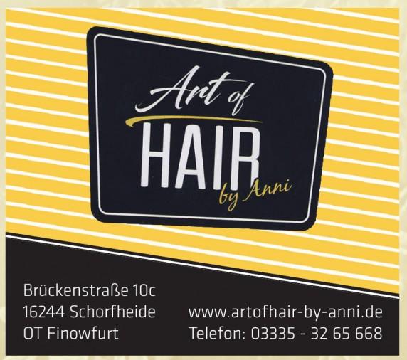 Art of Hair by Anni